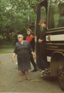 Debby letzte Abfahrt von Summerhill