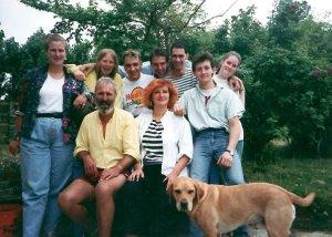 Gruppenfoto 1988 Summerhill